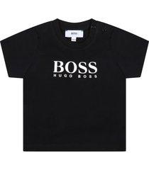 hugo boss black t-shirt for babykids with logo