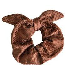 scrunchie banana rosa scrunchie de cabelo cobre