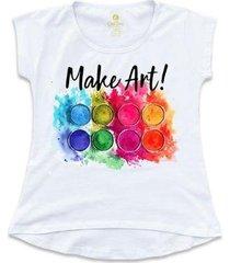 camiseta feminina t-shirt cool tees alma de artista - feminino