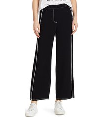 tatum western embroidered ankle trousers