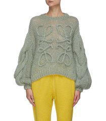 anagram knitted sweater