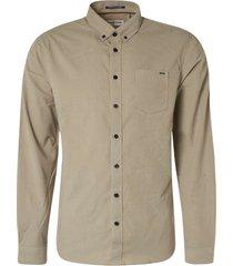 no excess shirt long sleeve fine corduroy stone