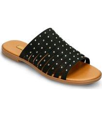 sandalias  negro bata wambi r mujer