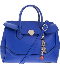 bolso azul rey prila