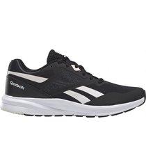zapatilla negra reebok runner 4 0
