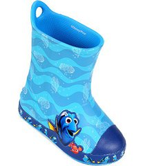 bota galocha infantil crocs disney bump it procurando dory