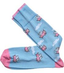 johnston & murphy pigs fly socks