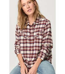 flanellskjorta dori western shirt