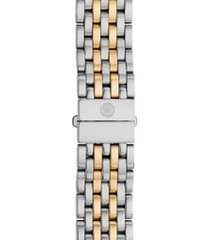 women's michele serein 16 16mm two-tone bracelet watchband