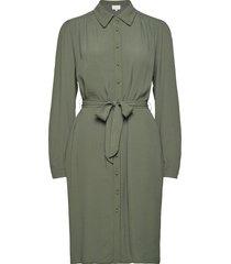 jilla dress knälång klänning grön minus