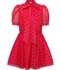 dottyy kort klänning röd ted baker