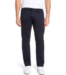 men's big & tall mavi jeans zach straight leg twill pants, size 42 x 36 - blue