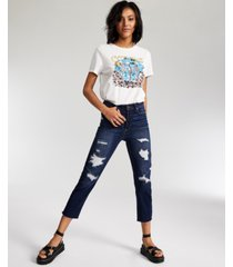 vanilla star juniors' real cheeky straight-leg jeans