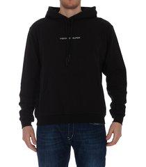 vision of super swing print hoodie