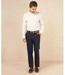 pantalón bolsillo diagonal azul oscuro 30