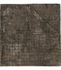 preen by thornton bregazzi exclusive harlequin print scarf - gold