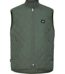 base reversible vest vest groen makia