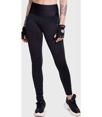 legging ngx long classic negro - calce ajustado