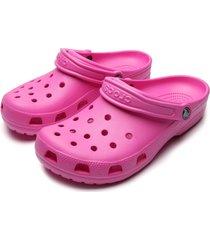 babuche crocs electric rosa
