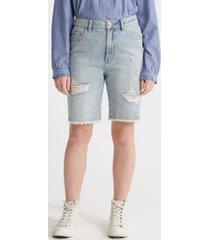 superdry women's bermuda boy shorts