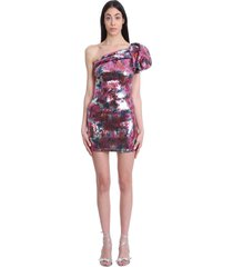 isabel marant osira dress in multicolor polyester