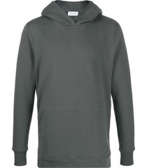 john elliott villain hooded pullover sweatshirt - grey