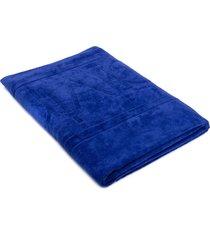 toalha unissex ckj unicolor - azul