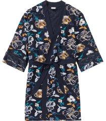 kimono accappatoio in jersey (blu) - bpc bonprix collection