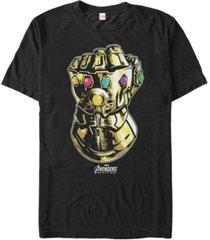 marvel men's avengers infinity war the mighty gauntlet short sleeve t-shirt