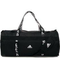 maletín negro-blanco adidas performance 4athlts duf m