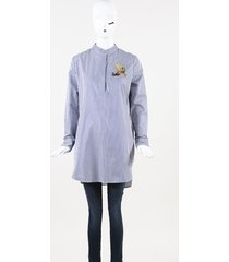 adam lippes embroidered tunic