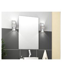 espelheira para banheiro 60 cm com painel lilies móveis