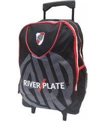 mochila roja river plate