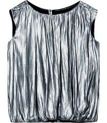 topp shine georgette blouse