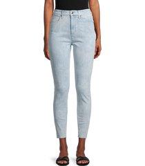 joe's jeans women's high-rise skinny ankle jeans - maldives - size 28 (4-6)