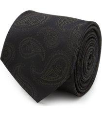 men's darth vader paisley tie