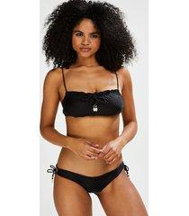 hunkemöller adriana djärvt skuren bikiniunderdel svart