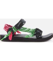 arizona love women's trekky bandana sandals - mix black - uk 6