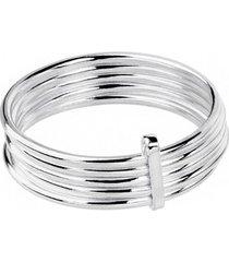 pierścionek srebrny 5 elementów good karma