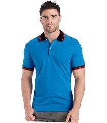 camiseta polo adulto masculino azul rey marketing personal