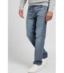 denimowe spodnie fason regular