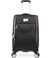 "bebe carissa 21"" carry-on spinner suitcase"