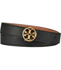 tory burch 1.5 reversible logo belt