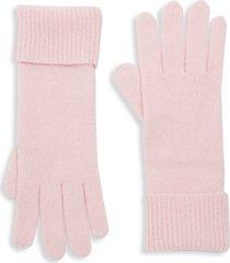 textured cashmere gloves