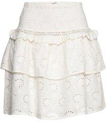skirt kort kjol vit sofie schnoor