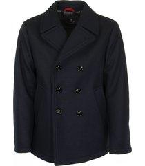 fay blue peacoat jackets