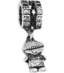 berloque menino em prata 925