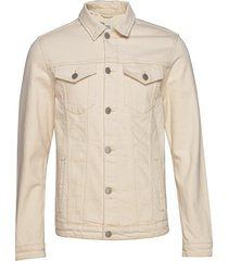 slhjeppe 6214 white st denim jacket w jeansjack denimjack crème selected homme