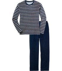 pigiama in ciniglia (blu) - bpc bonprix collection