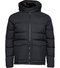 pktbpr hood puffer jacket gevoerd jack zwart produkt